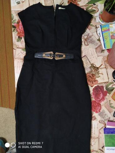 Женская одежда в Кант: Продаю сарафан черного цвета, классика, в отличном состоянии. Хорошо