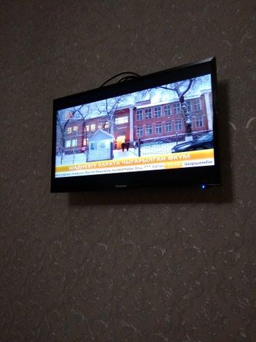 Телевизор Hisense H32N2170HW Smart TV DVB-T2 HD черный в Бишкек
