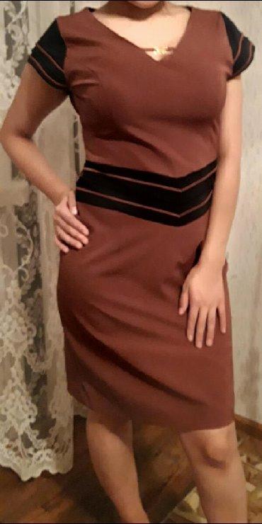 вечернее платье короткие в Кыргызстан: Срочно продам 700 сом. Турция. Короткое коричневое платье