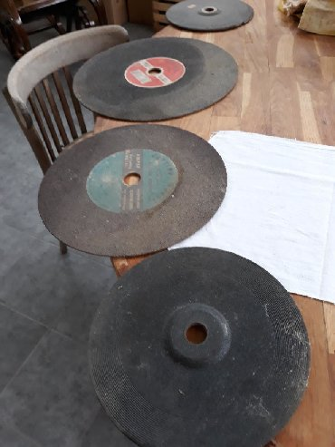 Пилы в Забрат: Образивные диски