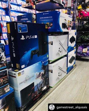 домашний кинотеатр sony в Азербайджан: Sony PlayStation 4 Pro 1TB 4K. Sony PlayStation 4 oyunlarının və akses