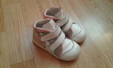 Cipele Polino,broj 21,kozne, duboke,sa anatomskim uloskom,ocuvane - Belgrade