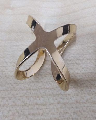 украшение для бижутерии в Кыргызстан: Продаю кольцо-бижутерия. Под золото. Размер регулируется. Примерно от