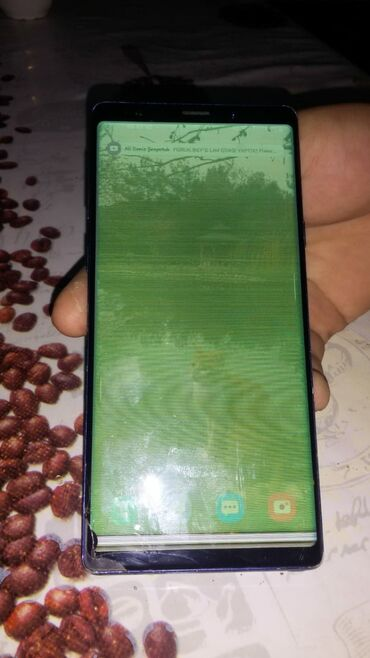 Samsung galaxy note 3 teze qiymeti - Azərbaycan: Təmirə ehtiyacı var Samsung Galaxy Note 9 128 GB Göy
