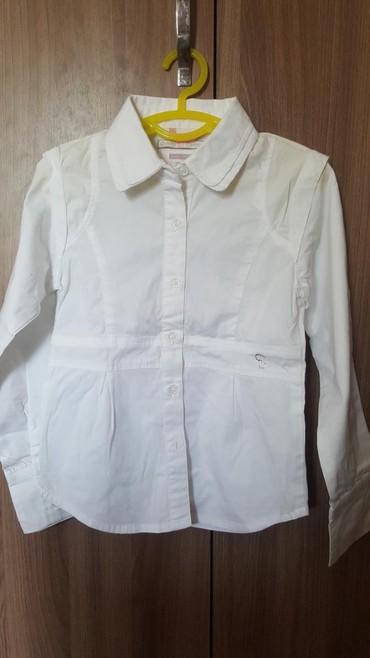 детская клетчатая рубашка в Кыргызстан: Рубашка на 5 лет рост 110 см почти новая