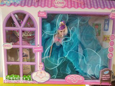 Потрясающие наборы кукла Барби с очень красивым пышным длинным