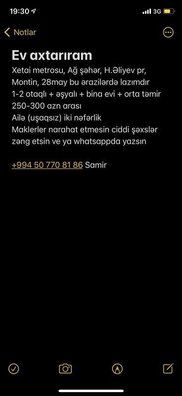 berde rayonunda kiraye evler - Azərbaycan: 2 otaqlı, 50 kv. m Mebelli