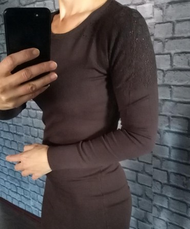 Tunika - haljina od trikotaže univerzalne veličine. - Ruma