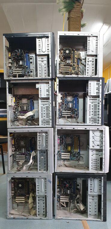 материнские-платы-1 в Кыргызстан: Матплаты на 775 сокете. AGP, DDR1- осталось 4 штуки.Материнка, корпус