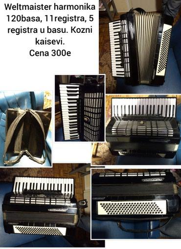 Harmonike | Srbija: Weltmaister harmonika 120basa, Cena 300e