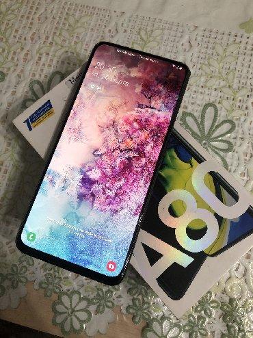 Samsung noutbuki - Кыргызстан: Б/у Samsung A80 128 ГБ Синий
