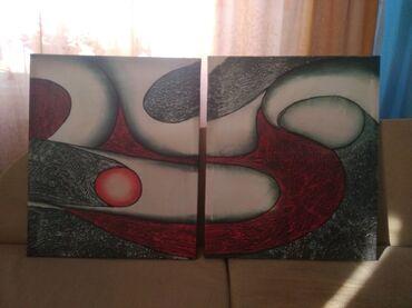 Продаю две картины, 650 сом окончательно