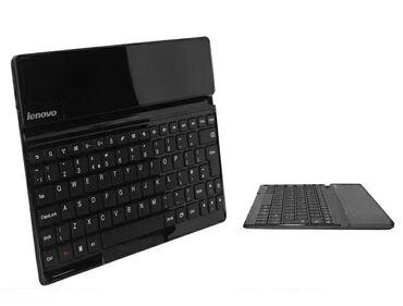 Электроника - Джал мкр (в т.ч. Верхний, Нижний, Средний): Чехол-клавиатура Bluetooth Keyboard Cover для планшета Lenovo S6000