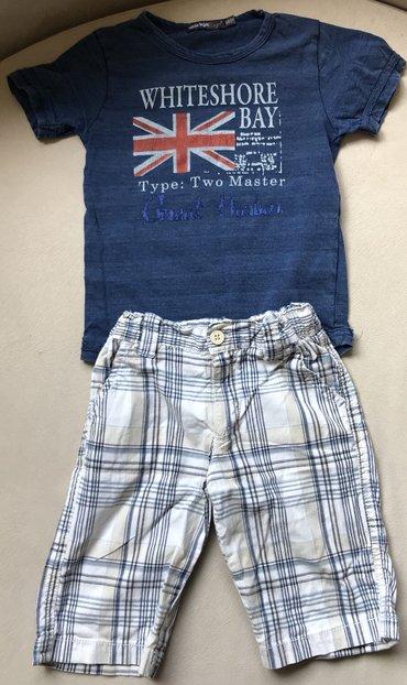 Bermude i majica, velicina 98/3 godine. - Crvenka