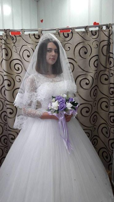Свадебное платье. Прокат 5000с,все в Бишкек