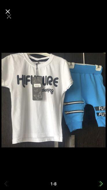 Детский набор на мальчика (шорты+ футболка) новый, покупали в Дубаи