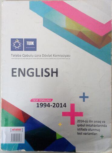 tqdk test toplusu в Азербайджан: English. Test toplusu ТQDK 4