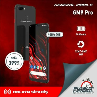General mobile GM9 Pro əsl siz istəyən qiymətə. #evdəqal al və