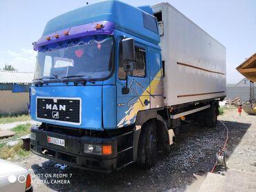 Рефрижератор бу купить - Кыргызстан: Ман камандор 19.314 Бдф продаю или меняю машина в хорошем сост будка 7