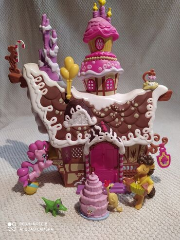 Barbie set - Crvenka: My little pony Pinkie Pie prodavnica slatkiša set sa dva konjića i
