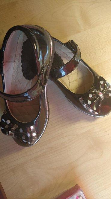 Детская обувь в Кыргызстан: Очень удобные лаковые туфельки, подойдут для любого праздника, размер