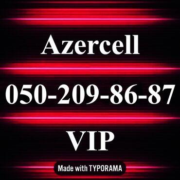 nomre - Azərbaycan: 050-209-86-87 Yeni VIP Azercell nomre