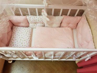 Продаю детскую кроватку! Входит новый в Бишкек
