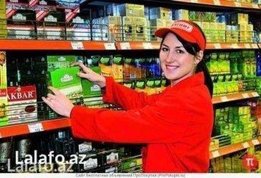 Bakı şəhərində Merçendayzer xanımlar teleb olunur teecili şirkete işh saatı 8-dan