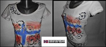 Sirine duzine m - Srbija: Majica Napapijri vel. Mdimenzije su sledece sirina ramena 38duzina