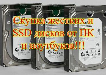 Скупка жёстких дисков, купим жёсткий диск от 500гб