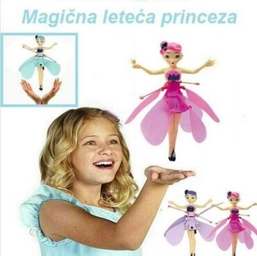 Konačno leteća igračka i za devojčice! Leteća princeza – Vaša omiljena