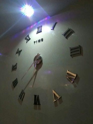 Sumqayıt şəhərində 3D Dekor Saat..