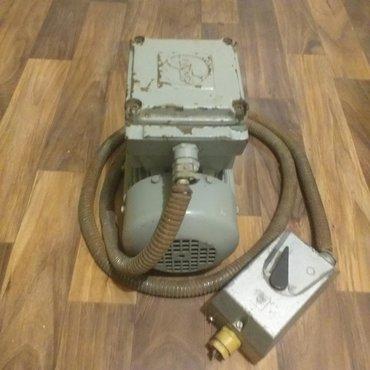 Elektromotor trofazni loher nemački,0,55 kilovata.ispravan.uz njega
