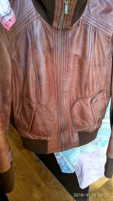 Кожаная куртка для девушек.Молодежка. в Кок-Ой