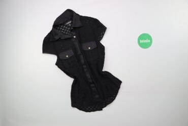 Жіноча мереживна сорочка з короткими рукавами Bebe, p. XS    Довжина