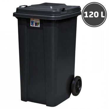 Мусорный бак(120л) для различного типа мусора или груза . Доставка по
