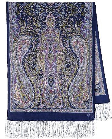 По оптовым ценам.  Павлопасадские платки шерстяные с шелковой бахрамой