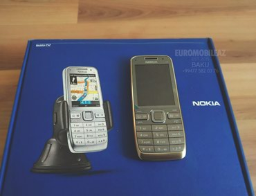 Nokia E52 Metal Grey - Bakı