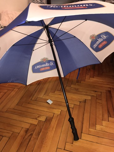 Bağ üçün çətirlər Azərbaycanda: Пляжный зонт новый большой крепкий из англии 20 ман или для отдыха