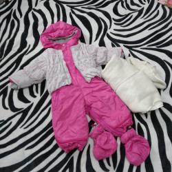 детские комбинезоны на 3 года в Кыргызстан: Продам очень классный, теплый детский зимний комбинезон с сапожками