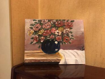 Ketan uzerinde Yagli boya ile cekilib Olcu:30x40