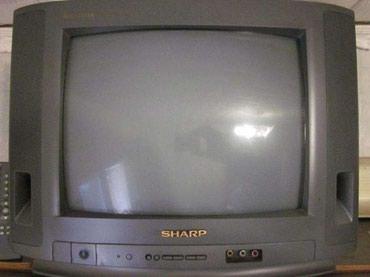 акустические системы sharp колонка в виде собак в Кыргызстан: Продаю телевизор sharp