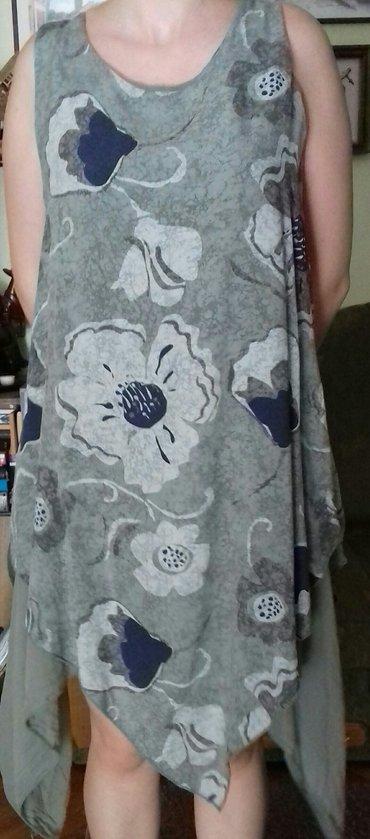 Asimetrična lagana ženska haljina univerzalne veličine.Boja - Novi Sad
