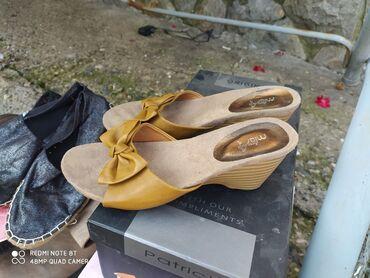 Papuce kao nove. preudobne.Nosene par puta.cena 300