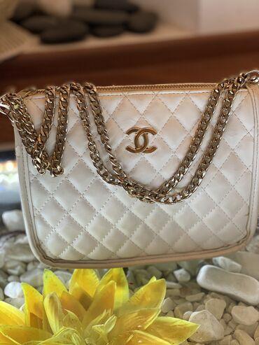 ag saclara elvida - Azərbaycan: Chanel ağ chanta