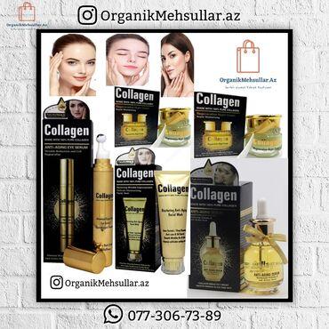 gun kremleri - Azərbaycan: Collagen Gözaltı serum, Üz serum, Gece kremi, Gündüz kremi, Üzyuma