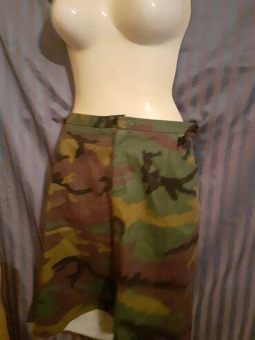Kao nova suknja bez greske,military vojnicki fazon,mekana kao mekani