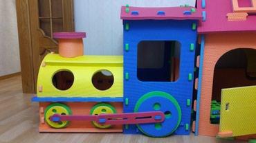 Продам детский паровоз. Игрушка, в Бишкек
