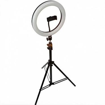 Кольцевая лампа для фото и видео и тик токаВысота 2,2метра диаметр