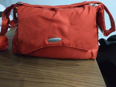 Τσάντα μεταφοράς Samsonite μαζί με samsonite σελτεδακι
